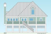 Country Style House Plan - 3 Beds 2.5 Baths 1904 Sq/Ft Plan #930-31 Exterior - Rear Elevation