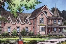 Craftsman Exterior - Front Elevation Plan #417-630