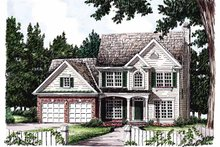 House Plan Design - Country Exterior - Front Elevation Plan #927-89