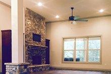 Architectural House Design - Craftsman Interior - Family Room Plan #437-75