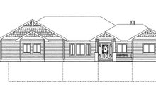 Architectural House Design - Craftsman Exterior - Front Elevation Plan #117-858