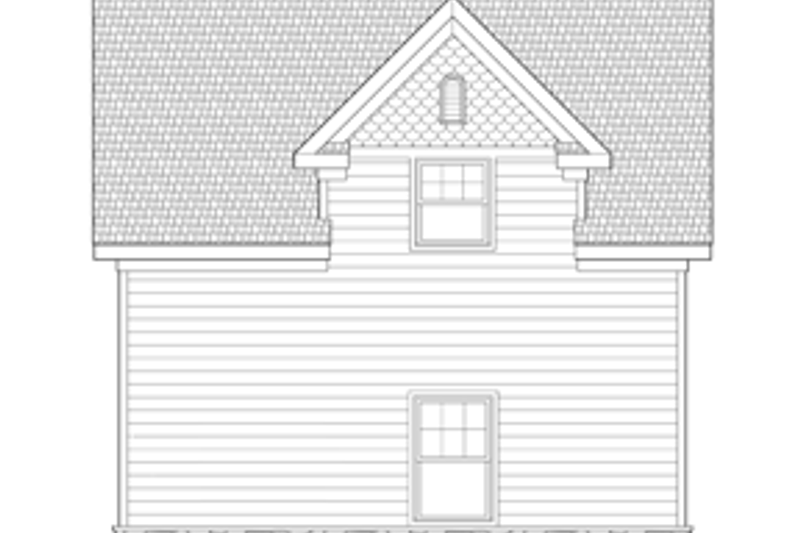 Craftsman Exterior - Other Elevation Plan #1029-65 - Houseplans.com