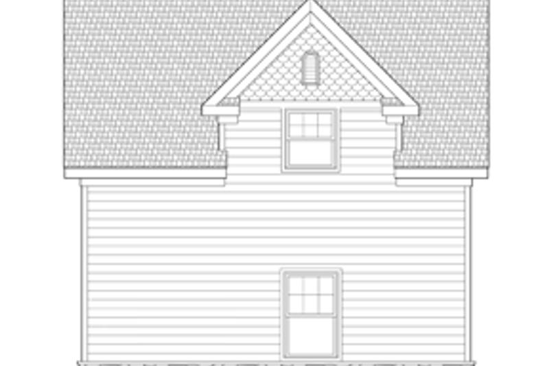 Craftsman Exterior - Other Elevation Plan #1029-65 - Houseplans.com