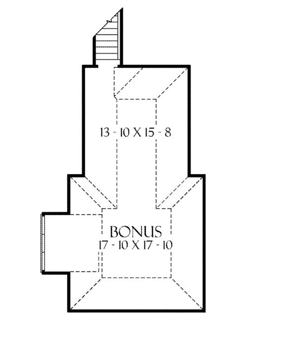 European Floor Plan - Other Floor Plan #929-893