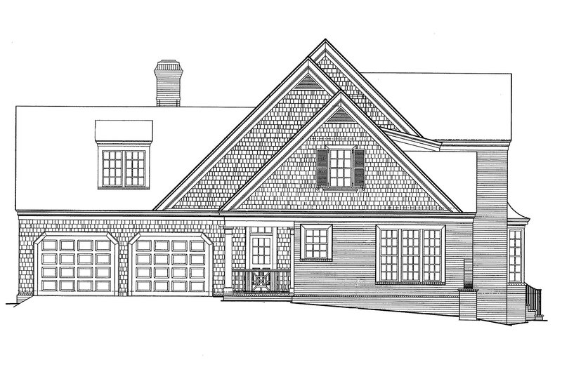 Country Exterior - Other Elevation Plan #429-338 - Houseplans.com