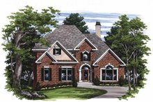 Home Plan - Traditional Exterior - Front Elevation Plan #927-452