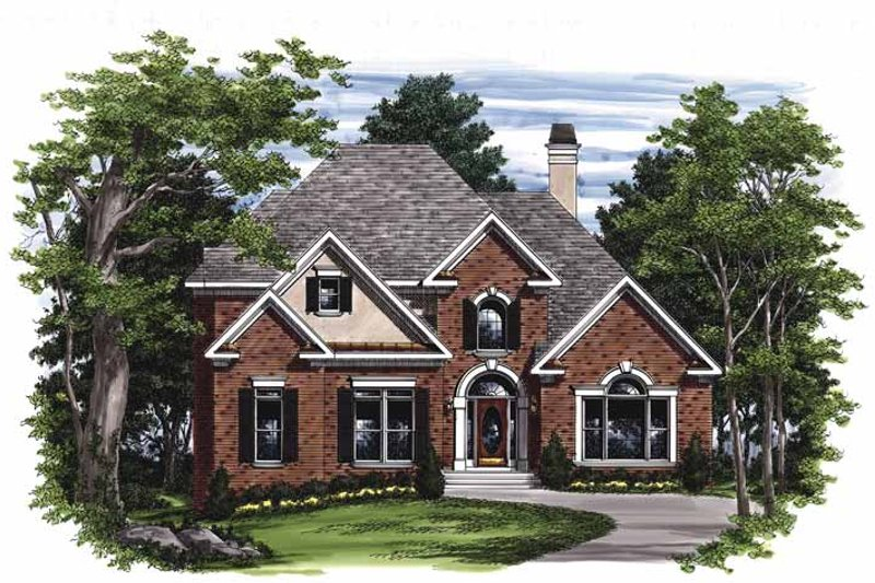 Traditional Exterior - Front Elevation Plan #927-452