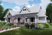 Farmhouse Style House Plan - 3 Beds 2.5 Baths 2270 Sq/Ft Plan #120-256 Exterior - Front Elevation