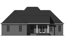 Dream House Plan - Country Exterior - Front Elevation Plan #21-393