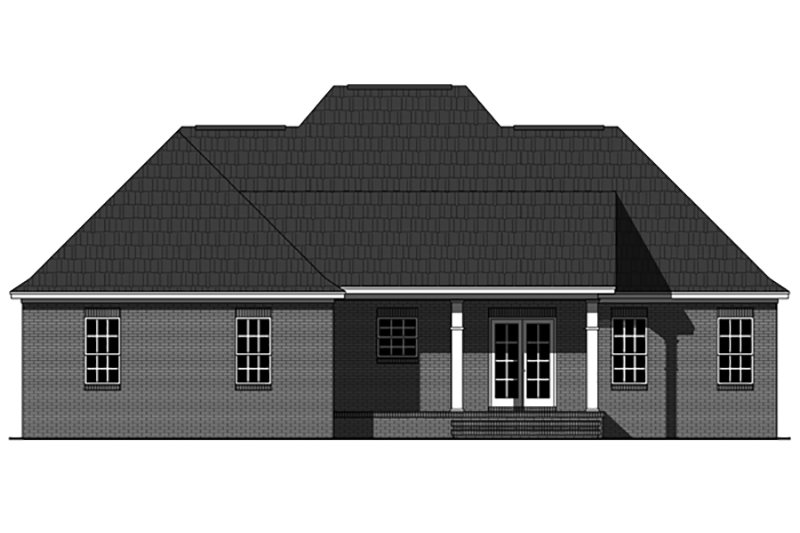 Country Exterior - Front Elevation Plan #21-393 - Houseplans.com