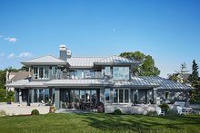 House Plan Design - Contemporary Exterior - Rear Elevation Plan #928-291