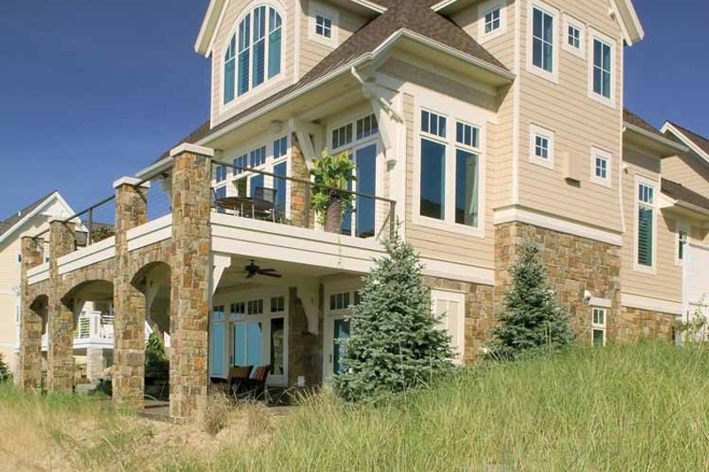 Traditional Exterior - Other Elevation Plan #928-95 - Houseplans.com