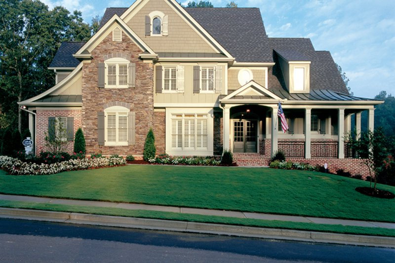 Country Exterior - Front Elevation Plan #927-855 - Houseplans.com