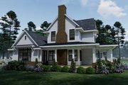 Farmhouse Style House Plan - 3 Beds 2.5 Baths 2214 Sq/Ft Plan #120-261 Exterior - Other Elevation