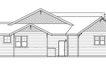Prairie Exterior - Other Elevation Plan #509-350