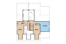 Craftsman Floor Plan - Upper Floor Plan Plan #923-113