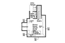 Country Floor Plan - Other Floor Plan Plan #310-1272