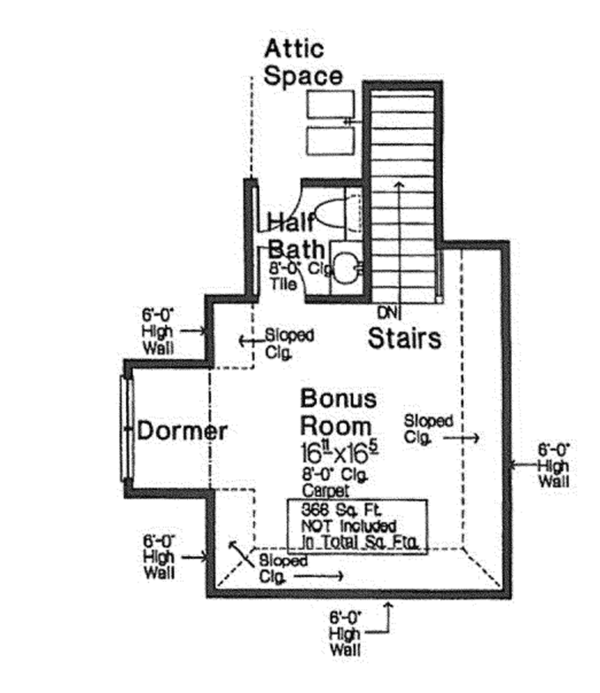 Country Floor Plan - Other Floor Plan Plan #310-1272