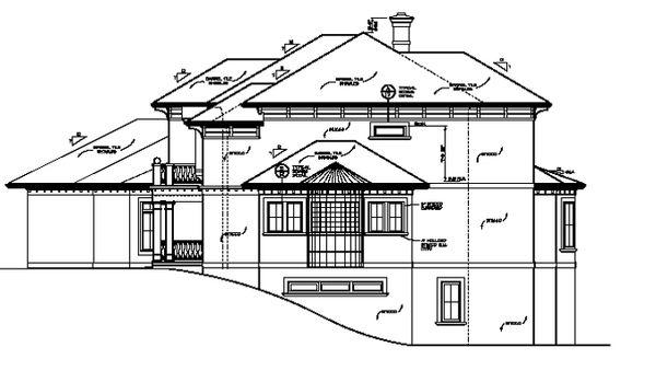 Architectural House Design - Mediterranean Floor Plan - Other Floor Plan #453-321