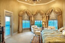 Mediterranean Interior - Master Bedroom Plan #930-442