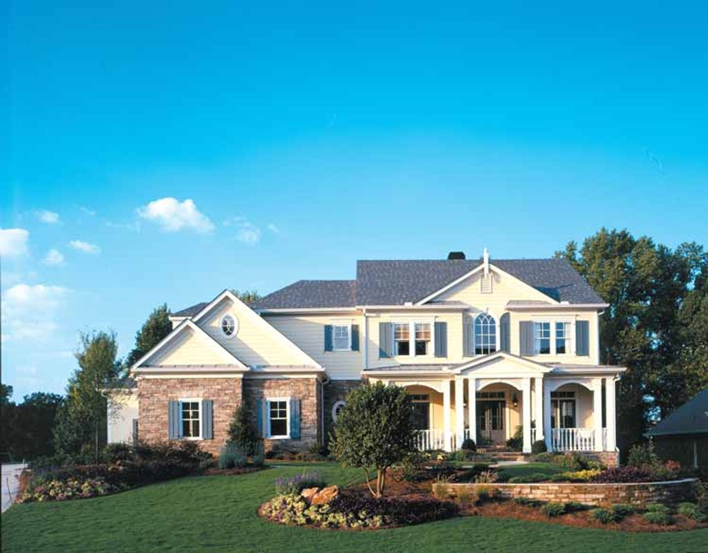 Colonial style house plan 5 beds 3 5 baths 4403 sq ft for Weinmaster house plans