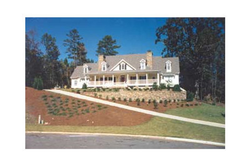 Country Exterior - Other Elevation Plan #429-32 - Houseplans.com