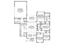 Cottage Floor Plan - Main Floor Plan Plan #406-9654