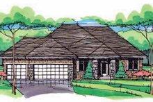House Plan Design - European Exterior - Front Elevation Plan #51-972