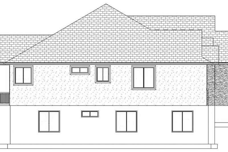 Ranch Exterior - Other Elevation Plan #1060-30 - Houseplans.com