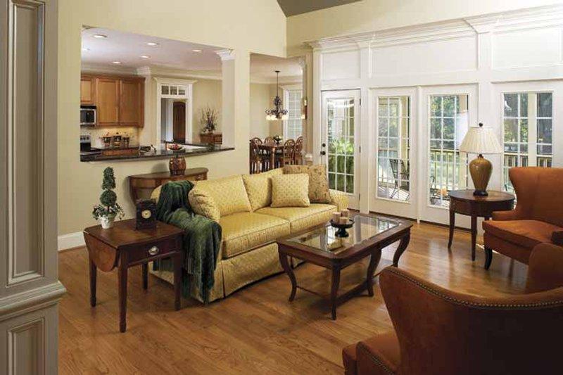 Traditional Interior - Family Room Plan #929-708 - Houseplans.com
