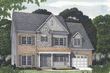 House Design - Traditional Exterior - Front Elevation Plan #453-551