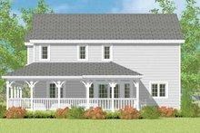 House Plan Design - Victorian Exterior - Other Elevation Plan #72-1110