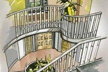 House Blueprint - Tudor Interior - Entry Plan #47-958
