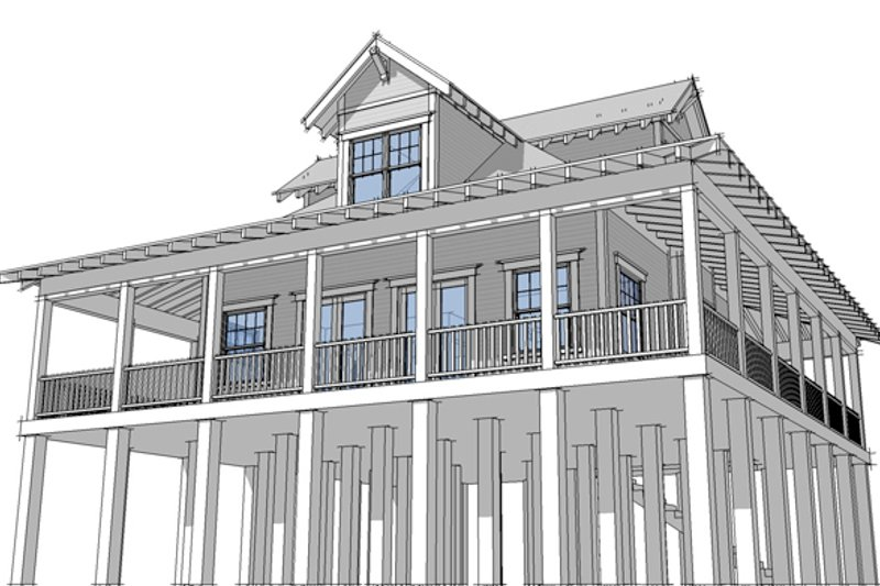 Country Exterior - Front Elevation Plan #64-282 - Houseplans.com