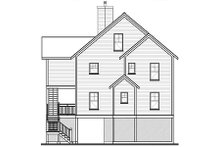 Beach Exterior - Rear Elevation Plan #23-2041