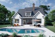Farmhouse Style House Plan - 4 Beds 3 Baths 2885 Sq/Ft Plan #929-1064 Exterior - Rear Elevation