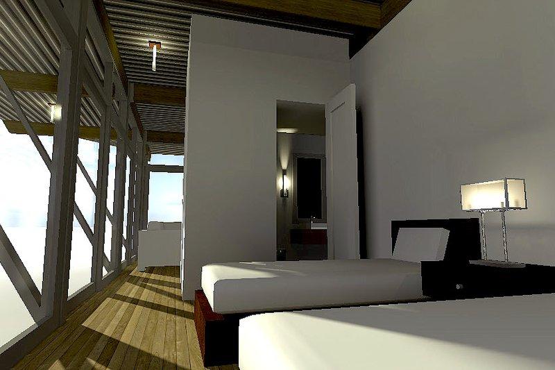 Cottage Interior - Bedroom Plan #64-193 - Houseplans.com