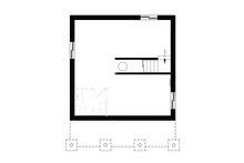 Cottage Floor Plan - Lower Floor Plan Plan #23-2300