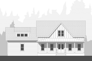 Farmhouse Style House Plan - 3 Beds 2.5 Baths 1955 Sq/Ft Plan #461-72 Exterior - Front Elevation