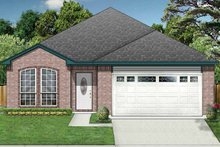 House Plan Design - Traditional Exterior - Front Elevation Plan #84-674