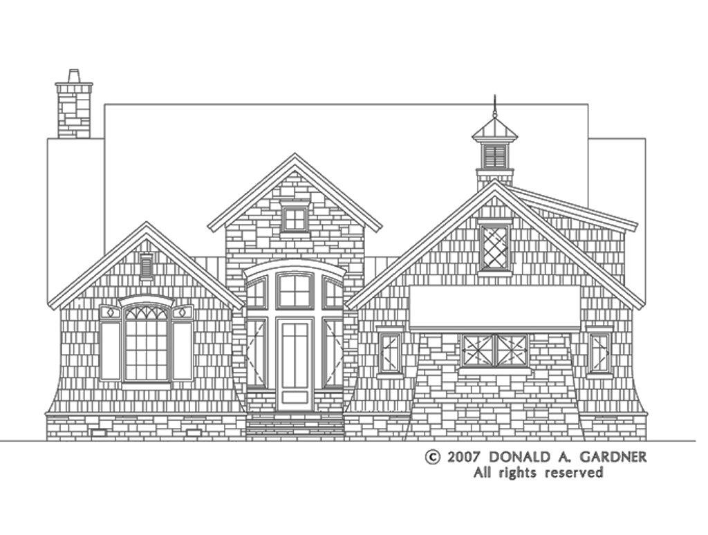 european style house plan - 3 beds 2 5 baths 1898 sq  ft plan  929-830