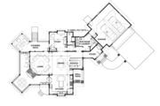 Country Style House Plan - 3 Beds 4 Baths 3347 Sq/Ft Plan #928-290 Floor Plan - Main Floor Plan
