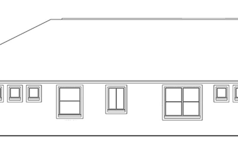 Craftsman Exterior - Other Elevation Plan #1058-67 - Houseplans.com