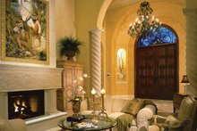 Mediterranean Interior - Family Room Plan #930-34