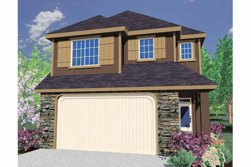 Traditional Exterior - Front Elevation Plan #509-246 - Houseplans.com