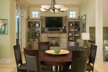 Architectural House Design - Traditional Interior - Family Room Plan #928-95