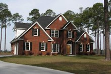 House Plan Design - Country Exterior - Front Elevation Plan #927-507