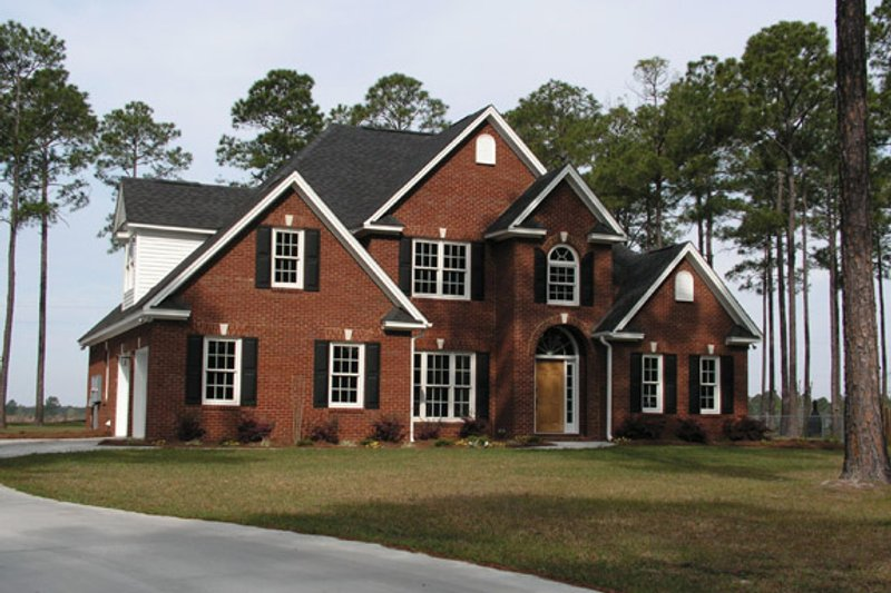 Country Exterior - Front Elevation Plan #927-507