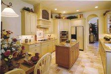 Ranch Interior - Kitchen Plan #930-232