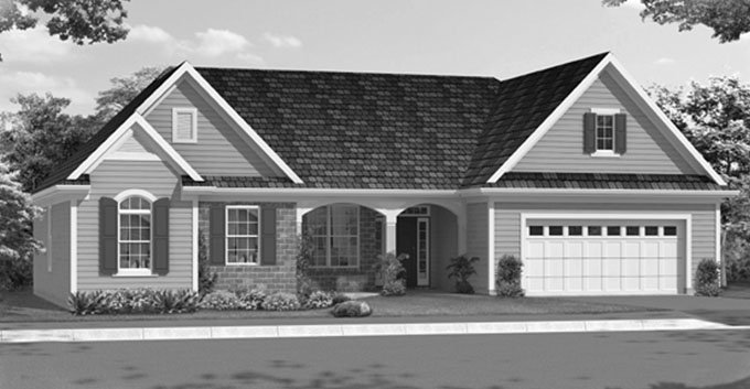 Traditional Exterior - Front Elevation Plan #46-839 - Houseplans.com